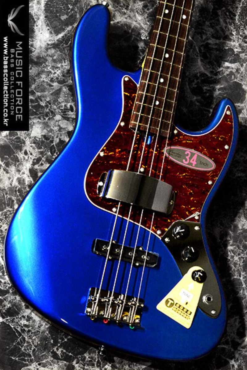 [특별세일] Bacchus Global Series Woodline WL434-Dark Lake Placid Blue w/Matching Headstock(2016년산/신품)