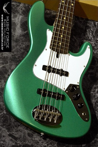 [이월상품창고대방출!!!] Lakland Skyline 55-60 Limited Edition Teal Green Metallic w/Rosewood FB & Match Headstock(2014년산/신품)