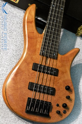 Fodera Monarch 5 Standard Special LTD-Madrone Burl Top w/Ebony FB (2018년산/한정판/신품)