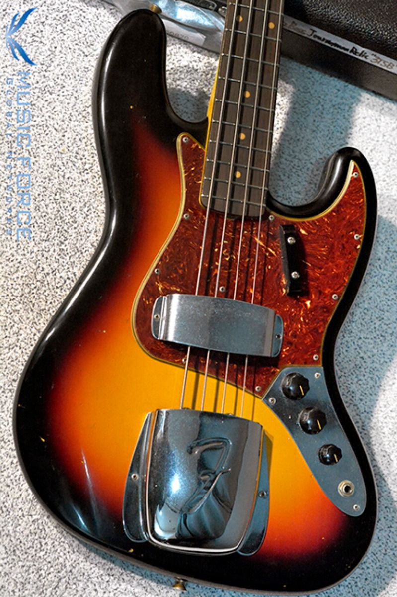 Fender Custom Shop 1962 Jazz Bass Journeyman Relic-3 Tone Sunburst(2018년산/신품)