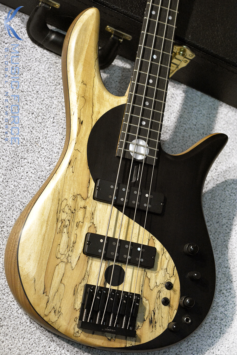 Fodera Yin Yang 4 Standard Special LTD w/Spalted Maple & Black Painted Yin Yang Top #4(2018년산/한정판/신품)