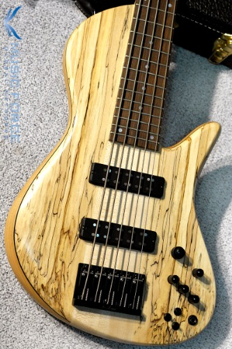 Fodera Emperor II Elite Select 5-Spalted Maple Top(2016년산/신품)