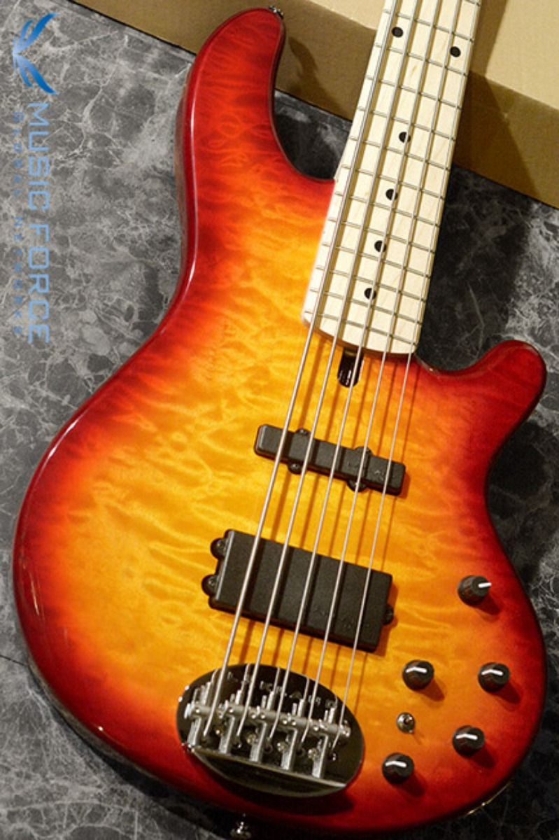 [특별세일!!!] Lakland Skyline 55-02 Deluxe QMT-Cherry Sunburst w/Maple FB(2018년산/신품)