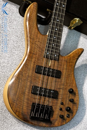 Fodera Monarch 4 Standard Special LTD-Flamed Walnut Top w/Ebony FB #2(2018년산/한정판/신품)