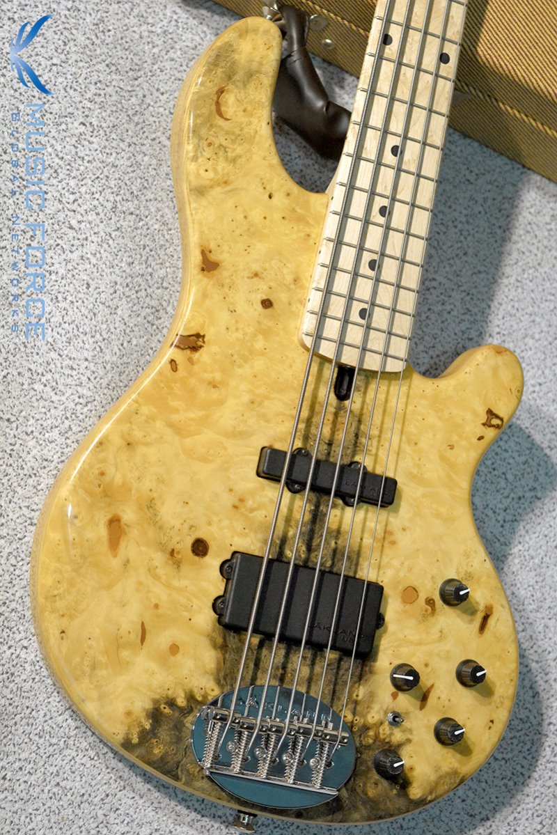 [이월상품창고대방출!!!] Lakland US Custom 55-94 Deluxe-Buckeye Burl Top w/Birdseye Maple FB(2015년산/신품)