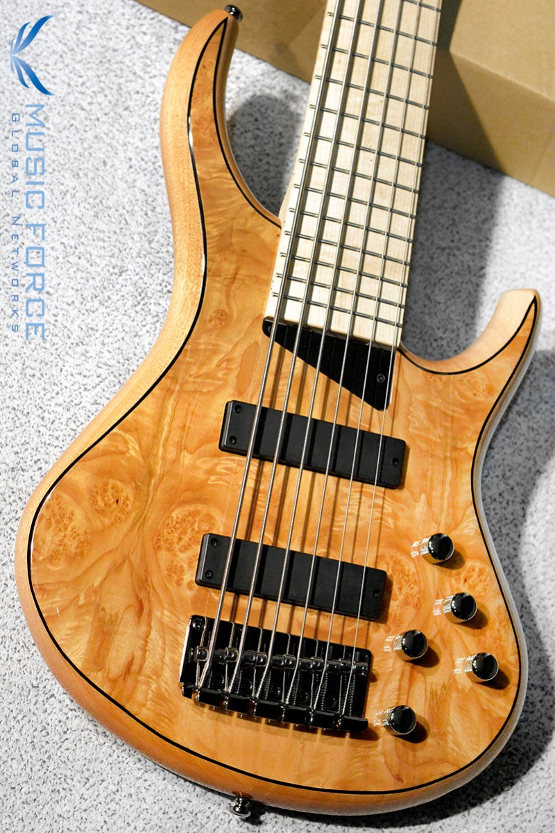 MTD(Michael Tobias Design) Kingston Z 6 String-Natural Gloss w/Maple Burl Top & Maple FB(2019년산/신품)