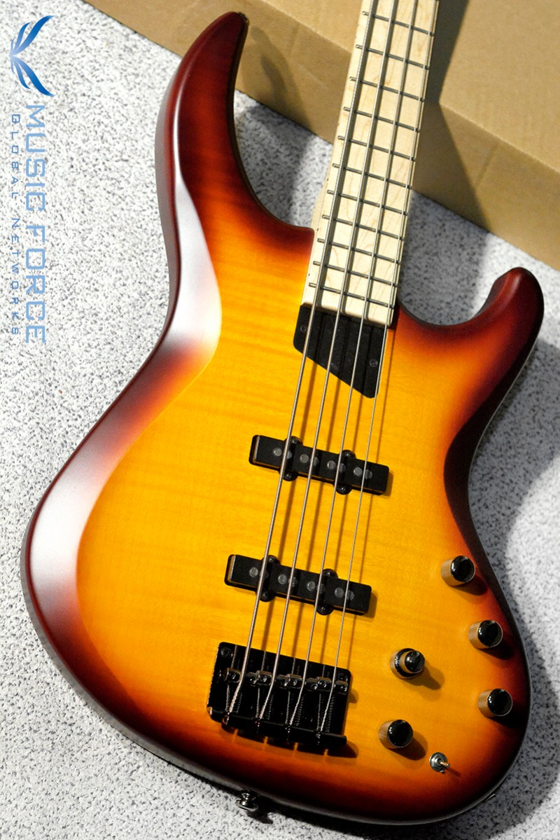 MTD(Michael Tobias Design) Kingston Saratoga Deluxe 4-Honey Burst LTD w/Flame Maple Top & Maple FB(신품)