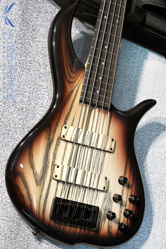 F-Bass BN5 Brown Burst Gloss-Black Grain w/Macassar Ebony FB & Black HW(2016년산/신품)