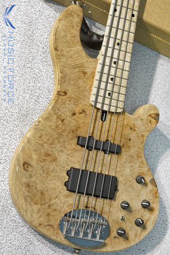 Lakland US Custom 55-94 Deluxe Maple Burl Top w/Rosewood FB & Black Gold HW(2017년산/신품)